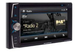 MACROM M-DVD6000DAB autoradio 2 DIN con GPS, Bluetooth, DVD, Radio DAB