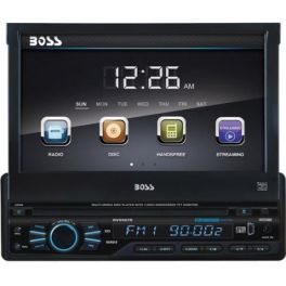 BOSSAUDIO BV9967B autoradio 1 din 85x4W, Bluetooth MP3, USB, SD, Aux