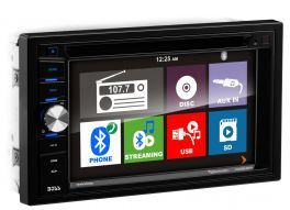 "BOSSAUDIO BV9366B Sintomonitor 80x4 watt 6.2 "" 2 DIN DVD con Bluetooth MP3, USB, SD, Aux"