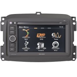 ZENEC FIAT-500L Media Station 2 DIN custom fit per vetture FIAT 500L
