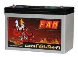 Batteria FAM 100 SuperNova HI-FI 100Ah professionale