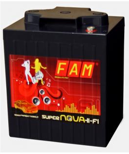 FAM 6V-225 Batteria SuperNova 6V da 225Ah Hi-Fi SPL