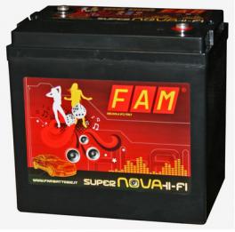 Batteria FAM 6V-200 SuperNova 6V da 200Ah Hi-Fi SPL