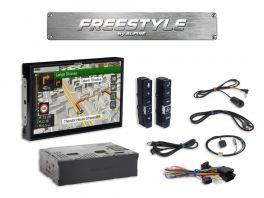"Alpine X902DC-F Media Station 9"" Freestyle CAMPER e TRUCK Navi, Android Auto, App CarPlay e Bluetooth"