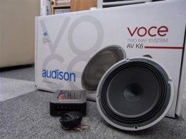 AUDISON VOCE AV K6 KIT 2 vie AV 1.1+AV 6.5+AV CX 2W MB + GRIGLIE