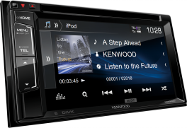 "Kenwood DDX318BT Autoradio 2 DIN Sintomonitor DVD da 6,2"" e interfaccia Bluetooth integrata"