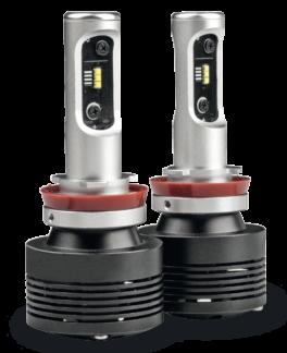 Fari LED H8 - H9 - H11 abbaglianti / anabbaglianti Phonocar 07504 (COPPIA)