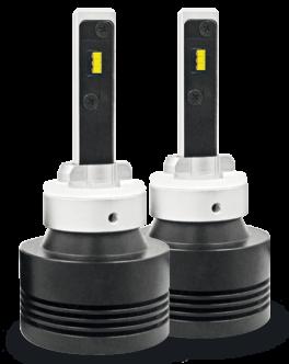 Fari LED H27 - 880 - 881 abbaglianti / anabbaglianti Phonocar 07507 (COPPIA)