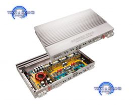 GROUND ZERO GZUA 4.150SQ Amplificatore classe AB digitale, 4 canali, Potenza RMS 4X190W RMS