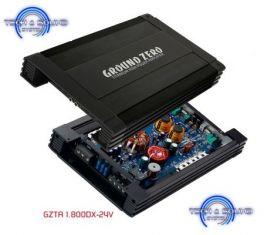 GROUND ZERO GZTA 1.800DX - 24V Amplificatore 1 canale classe D, 850W RMS
