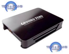 Amplificatore GROUND ZERO GZRA 2.350G, classe G, 2 canali, Potenza RMS 2x200 Watt a 4 Ohm.