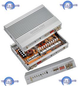 GROUND ZERO GZHA 2400XII Amplificatore 2 canali 2x480 Watts RMS