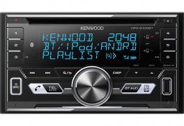 Kenwood DPX-5100BT autoradio 2 DIN CD con Bluetooth e colori variabili