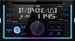 JVC KW-R930BT autoradio 2 DIN con Spotify  Bluetooth, USB, Aux-in frontale