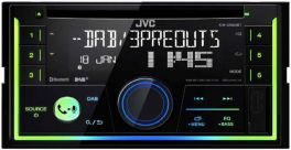 JVC KW-DB93BT autoradio 2 DIN DAB+ e Bluetooth, lettore CD