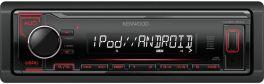 Kenwood KMM-204 autoradio con USB, AUX-IN smartphone Android