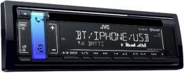 JVC KD-R891BT Autoradio CD con Bluetooth® e USB/ingresso AUX frontali