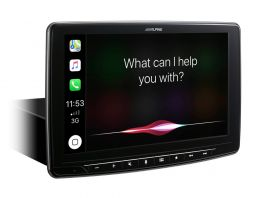 Alpine ILX-F903D autoradio Halo9 da 9'' monitor regolabile con DAB+, Apple CarPlay e Android Auto