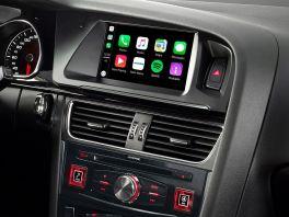 """Alpine X702D-A4 Unità Centrale + Mascherina e cavi per AUDI A4 e A5 Touch 7"""" Android + Car Play Navi-BT"""