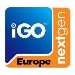 Phonocar NV945 Mappa di navigazione iGo Europa per VM010