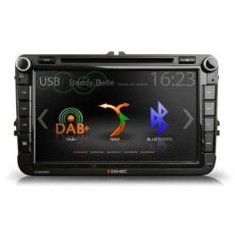 Zenec Z-E2050 autoradio 2 din specifica per VW, SEAT, SKODA 3D navi, DAB+ Bluetooth