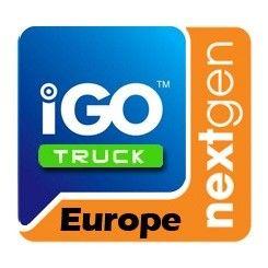 Phonocar NV912 Mappa di navigazione iGo Europa Truck per mezzi pesanti e camper