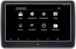 """Phonocar VM158 Monitor 10.1"""" per Poggiatesta Touch Screen Wifi Bluetooth USB-SD"""