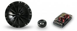 Kit altoparlanti 2 vie Hi Tech Magico Phonocar 02807 200W Woofer 165mm (6,5'') + Tweeter  + Crossover