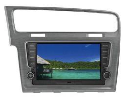 Mascherina 2 DIN per Golf VII specifica per VM109 e VM110 colore grigio satinato