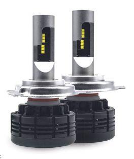 Fari LED H4 abbaglianti /anabbaglianti 24-36V Phonocar 07512 LAMPADINE LED PER AUTO 4000LM (COPPIA)