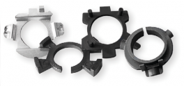 Kit adattatori di fissaggio per lampade led Phonocar 07590