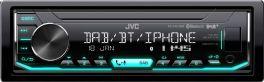 JVC KD-X451DBT Autoradio 1 DIN con Bluetooth, DAB + e ingresso USB / AUX frontale