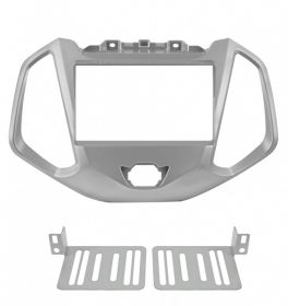 Mascherina 2 Din Ford Ecosport 14- colore argento
