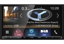 Kenwood DNX8180DABS autoradio 2 DIN con DAB+, Apple carplay, Android Auto, Spotify, Bluetooth
