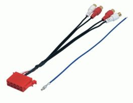 Cavo adattatore ISO-RCA ant/post Phonocar 04194