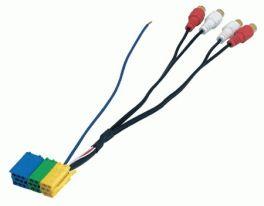 Cavo adattatore mini ISO-RCA Phonocar 04195