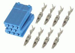Connettori Mini-ISO Colore blu Phonocar 043332 (5 PZ)