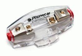 Portafusibile 2 uscite fusibile AFC Cavo In/Out 10-20 mm2 Phonocar 04496