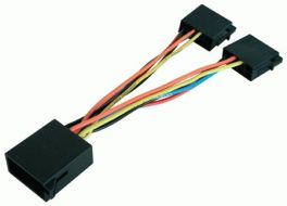 Cavo sdoppiatore per autoradio con connettore ISO multimarca Phonocar 04641