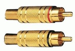 Connettori coassiali RCA Phonocar 046492 (4 PZ)