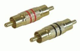Connettori coassiali RCA maschio/maschio Phonocar 046731 COPPIA