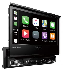Pioneer AVH-Z7100DAB autoradio 1 DIN 7'' Apple CarPlay, Android Auto, DAB+, Digital Radio, Waze , Bluetooth, GEQ