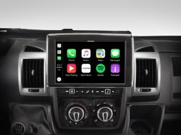 Alpine i902D-DU Media Station 9'' per Ducato/Jumper/Boxer con, Android Auto e App CarPlay