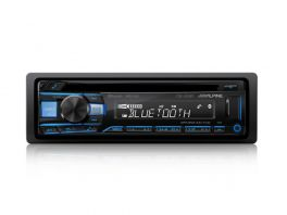 Alpine CDE-203BT Autoradio 1 Din CD USB AUX FLAC MP3 WMA AAC Bluetooth