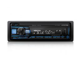 Alpine UTE-200BT Autoradio 1 Din USB/AUX FLAC MP3/WMA/AAC Bluetooth Compatibilità Android e iOS