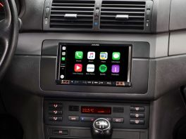 Alpine iLX-702E46 Media Station 7'' per BMW S3 E46 con Android Auto, App CarPlay e Bluetooth
