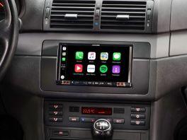 Alpine iLX-702E46 Media Station 7'' per BMW S3 E46 con Android Auto, App CarPlay e Bluetooth