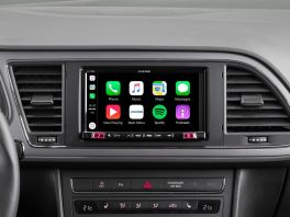 Alpine iLX-702LEON Media Station 7'' per Seat Leon con Android Auto, App CarPlay e Bluetooth