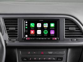Alpine iLX-702LEON Media Station 7'' per Seat Leon con Android Auto, App CarPlay e Bluetooth