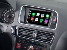 Alpine X702D-Q5 Media Station 7'' per Audi Q5 con Navi, Bluetooth, Android Auto e App CarPlay